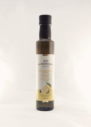 Masrojana Arbequina huile olive au citron