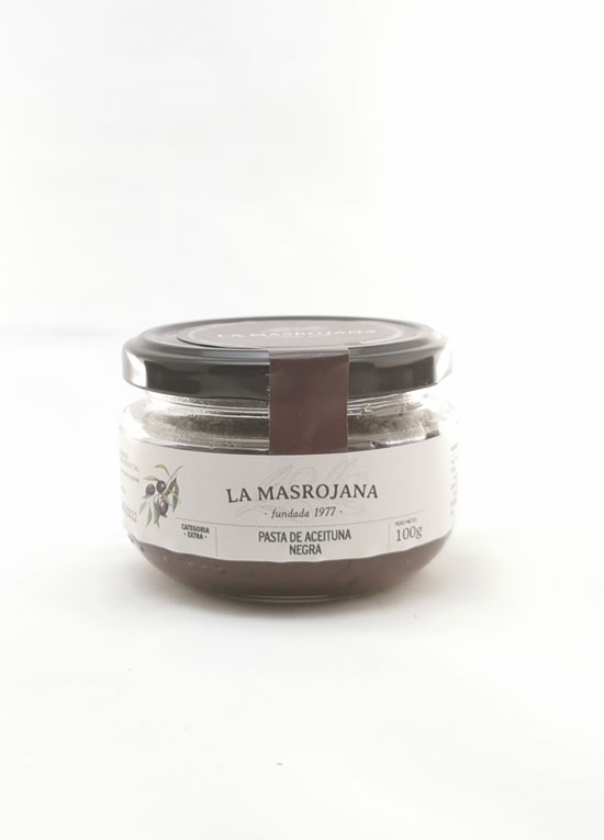 Masrojana pate d'olive Arbequina noire