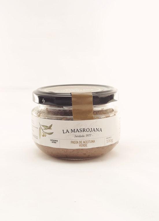 Masrojana pate d'olive Arbequina verte